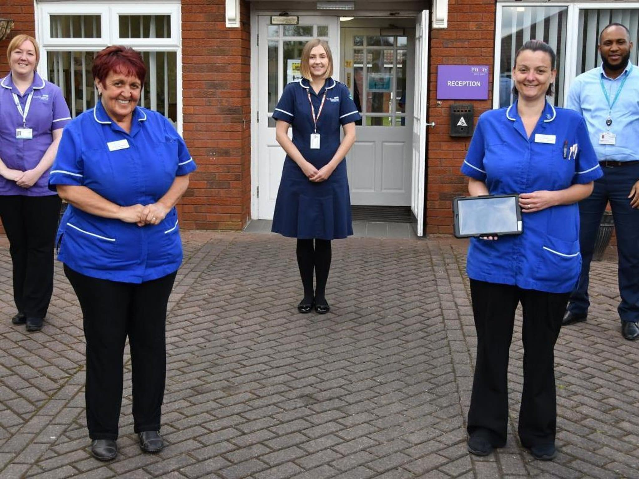 'Instant access' to healthcare for residents in more than 100 Lancashire care homes