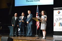 Attorney Robert Capovilla Receives Cherokee County Chamber of Commerce Top 10 in 10 Honor