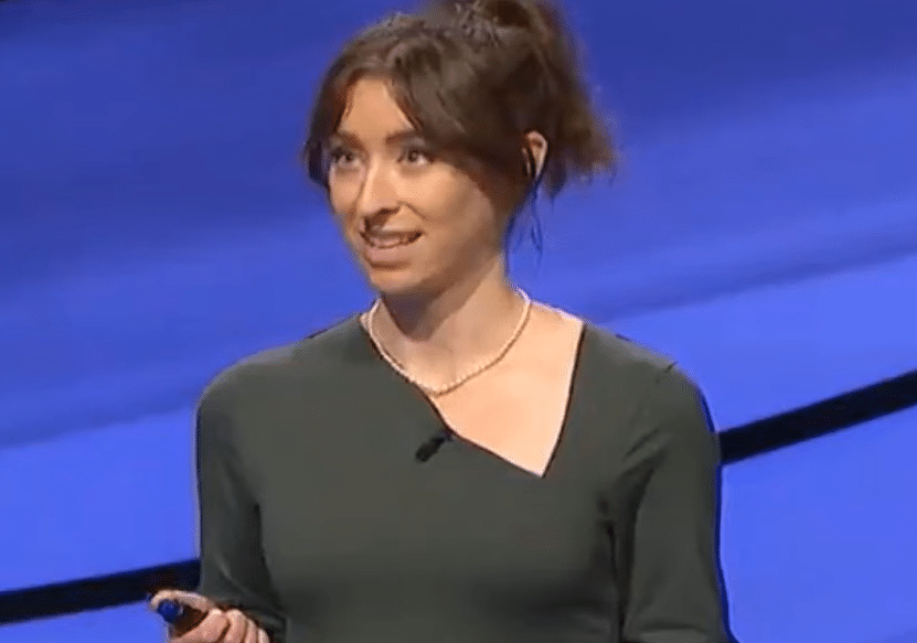 Brooklyn lawyer gains fame on Jeopardy!, for her facial expressions as well as intellectual prowess