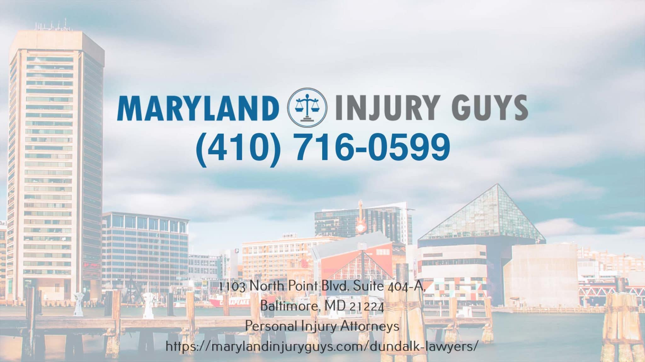 The Dundalk Personal Injury Attorneys Share The Date and Time of An Upcoming Webinar