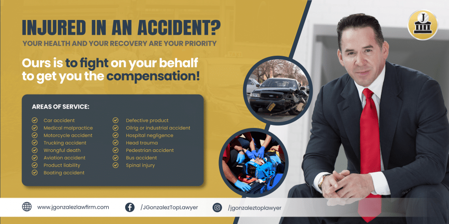 J. Gonzalez Injury Attorneys: Your Health and Recovery are Your Priority